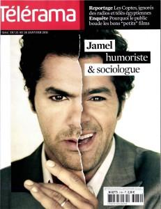 Jamel humoriste & sociologue (Télérama, 22 au 28 janvier 2011)