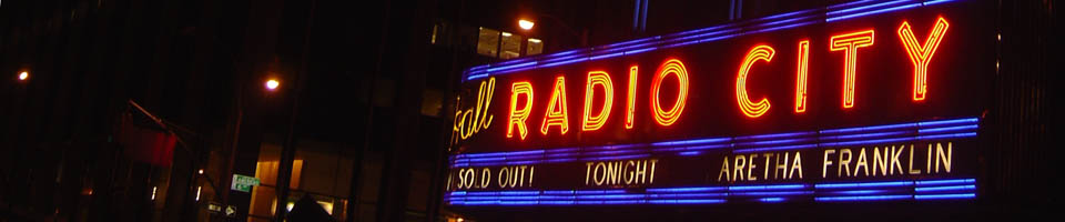  Aretha Franklin at the Radio City Music Hall / New York, NY, mars 2008