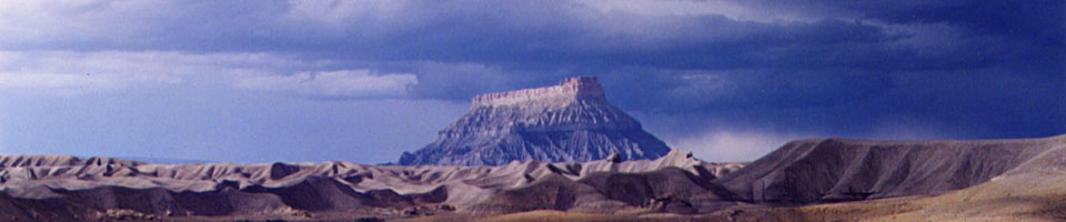 Big Thomson Mesa / Capitol Reef, Utah, USA, juin 1995