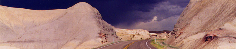 Storm Ahead / Mexican Hat, Arizona, USA, juin 1995