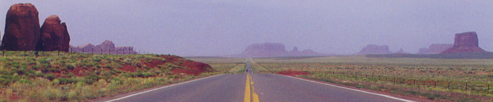 Straight Forward / Monument Valley, Arizona, juin 1995