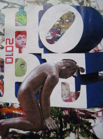 Hope (carte de voeux) / François de Singly, 2010